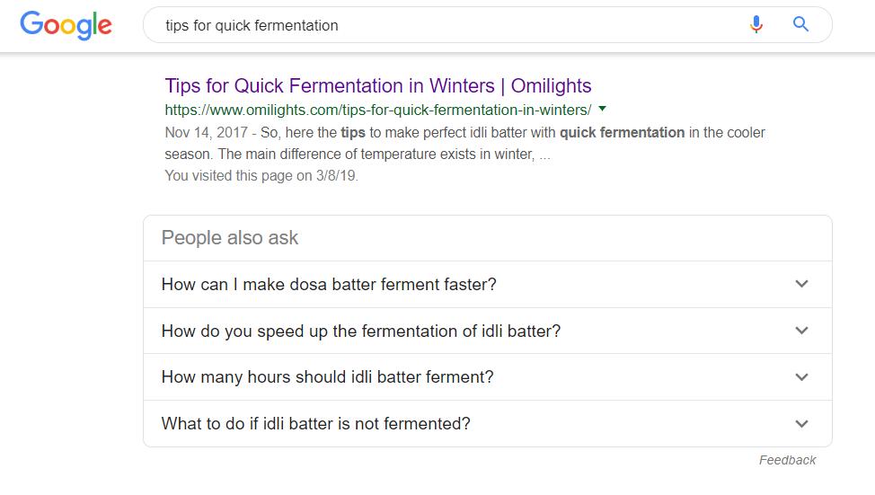 quick-fermentation