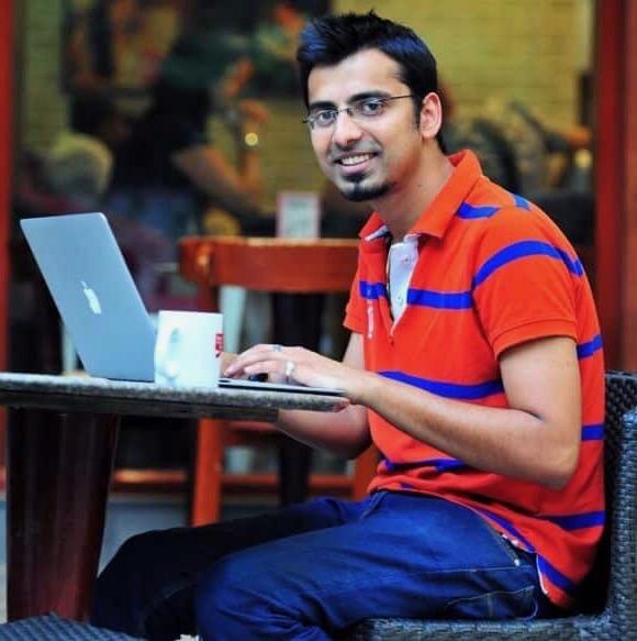 Indian Blogger Harsh Agarwal