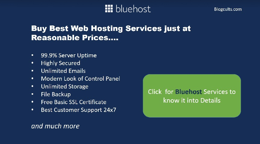 bluehost service provider